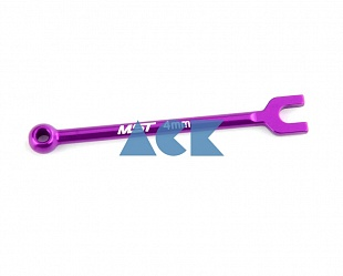 Alum. turnbuckle wrench 4mm (purple)